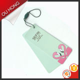 Pink bonito Animal Logo Printed Custom Hang Tag para Clothes de Ladies