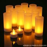 لهب يلوّن خيار [لد] [تليغتس] شمعة فنجان