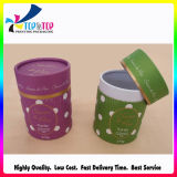 2016 aufbereitetes materielles Zylinder-Form-Kerze-Papier-Gefäß-Verpacken