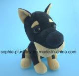 Jouet en peluche de 20 cm Jouet de chien noir