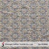 Tissu en gros de lacet de coton de guipure (M3096)