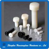 Alle Arten weiße schwarze Plastiknylonmaschinen-Hauptschraube