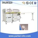 Découpage principal faisant le coin de alimentation automatique de profil en aluminium machine de découpage en aluminium