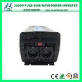 inversor puro da potência solar de onda de seno de 3000W DC12/24V (QW-P3000)