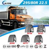 Gomma del camion pesante, pneumatico 295/80r22.5 del camion con l'estensione che contrassegna il PUNTINO dell'ECE