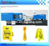 Máquina plástica da modelação por injeção do sinal de aviso