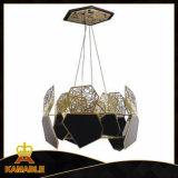 Dekoratives modernes nach Maß Hauptmetallhängende Lampe (KAP6086)