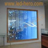 Visualizzazione di alto dell'acetato di LED di alta luminosità P10/P15.625 delle visualizzazioni della finestra di vetro di /Shop di vetro LED di vetro delle visualizzazioni/parete