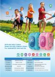 GPS Watch Tracker pour Children, Track Step, bilan de santé Wt50-Ez
