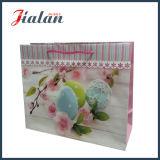 Ostern-Feiertag mit Funkeln-Kunstdruckpapier-Einkaufen-Geschenk-Papierbeutel