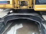 Máquina escavadora hidráulica usada da esteira rolante da lagarta 320b para a venda