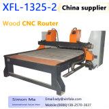 Máquina de gravura Xfl-1325-2 que cinzela o router China do CNC da máquina