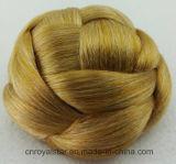 Parrucca capa rotonda dello Synthetic dei capelli dei retro capelli superiori