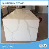 Bancadas brancas da pedra de quartzo de Calacatta do Sell quente (SC-103)