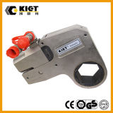 Kiet 700bar 20500 nm Size Adaptable Steel Hollow Hydraulic Hexagon Torque Wrench