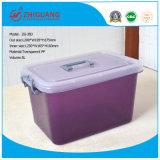 De kleine Doos van het Speelgoed van de Doos van de Gift van de Container van het Voedsel van het Huishouden van de Doos van de Opslag van de Grootte Transparante Plastic Plastic (5L)