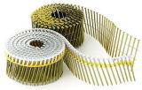 Clous galvanisés de bobine pour la toiture, clôturant