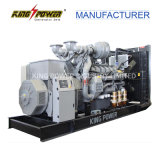 gerador Diesel 190kw de Perkins do depósito de gasolina 50/60Hz baixo