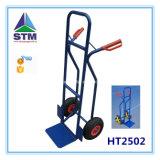 Chariot lourd à main du prix bas Ht1866 avec la roue deux