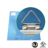 1X4 luz del panel ultrafina aprobada de la UL Dlc 115lm/W 9m m LED