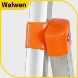 Fabrik-Preis-Superlight faltende Stahljobstep-Strichleiter mit sicherer Schiene
