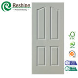 Moderne Entwurfs-HDF geformte Tür-weiße Primer-Tür