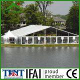 Tente extérieure imperméable à l'eau de pavillon de tissu de PVC grande pour l'usager