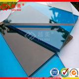 Hoja de cubierta de plástico sólido de policarbonato Hoja de material de pabellón