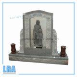 米国式のための自然な花こう岩の墓碑か記念碑または墓石