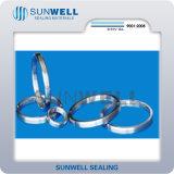 Pakkingen Ss316 van het Type Ss304 van Pakking van de ring de Gezamenlijke Ovale