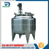 Réservoir de stockage de mélange de mélange de réservoir d'acier inoxydable de la Chine