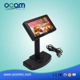7 дюймов - индикация клиента POS USB высокой яркости TFT-LCD для трактира