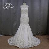 完全な一流の人魚の花嫁の結婚式の花嫁の服