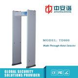 Un alto metal detector anti-interferenza registrabile di 50 frequenze con protezione di parola d'accesso