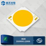 Eficiência luminosa elevada 140lm / W 15W COB LED CRI80 para iluminação comercial premium