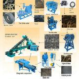 Neumático de caucho Processing Equipment / Reciclaje de Llantas Cadena / Línea de producción de polvo de caucho