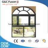 Fournisseurs en aluminium de guichet de tissu pour rideaux en verre Tempered d'interruption thermique neuve de modèle doubles