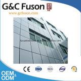 Ненесущая стена сопротивления жары сертификата CCC звукоизоляционная Низкая-E стеклянная алюминиевая