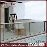 Systeem van het Traliewerk van het Kanaal van U van Frameless het Glas/glas- (dms-B2145)