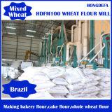 linha do moinho do trigo 4t/H para produzir a farinha e o farelo do Semolina