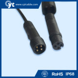 6 Pin Waterproof Connector Cable para o diodo emissor de luz Lighting