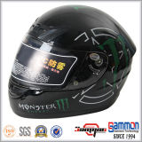 Холодный мотовелосипед шлема мотоцикла полной стороны картины/перекрестный шлем (FL105)