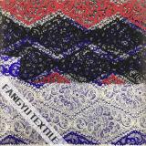 Tessuto geometrico del merletto del poliestere degli accessori dell'indumento