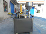 セリウムが付いている自動回転式プラスティック容器のシーリング機械