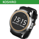 Screen rotondo Bluetooth Smart Watch con Mobile Phone