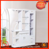 MDF Wine Display Stand Retail Wine Cabinet