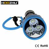 Hoozhu U23 Tauchens-Licht-maximale 3000 Lumen-tauchende Lampe