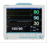 Modelo nuevo caliente de la venta monitor paciente del equipamiento médico de la pantalla táctil de 15 pulgadas