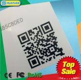 Tarjeta de los businss de NTAG203 NTAG213 NFC con el código de QR para la gerencia de la lealtad