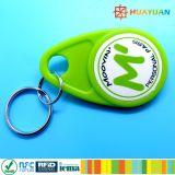 Изготовленный на заказ ABS печатание 125kHz TK4100 логоса делают бирку водостотьким контроля допуска RFID ключевую